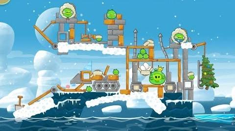 Angry Birds Seasons Arctic Eggspedition 1-25 Walkthrough 3 Star