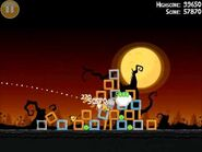 Official Angry Birds Seasons Walkthrough Trick or Treat 2-5