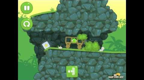 Bad Piggies Ground Hog Day 1-5 Walkthrough 3 Star