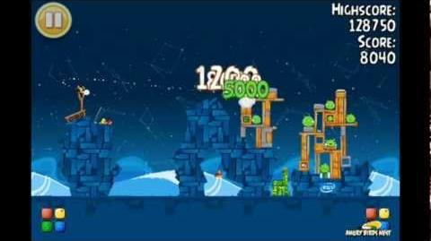 Angry Birds Seasons Intel Golden Egg Level 3