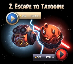 Escape yo Tatooine