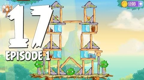 Angry Birds Stella Level 17 Walkthrough Branch Out Episode 1