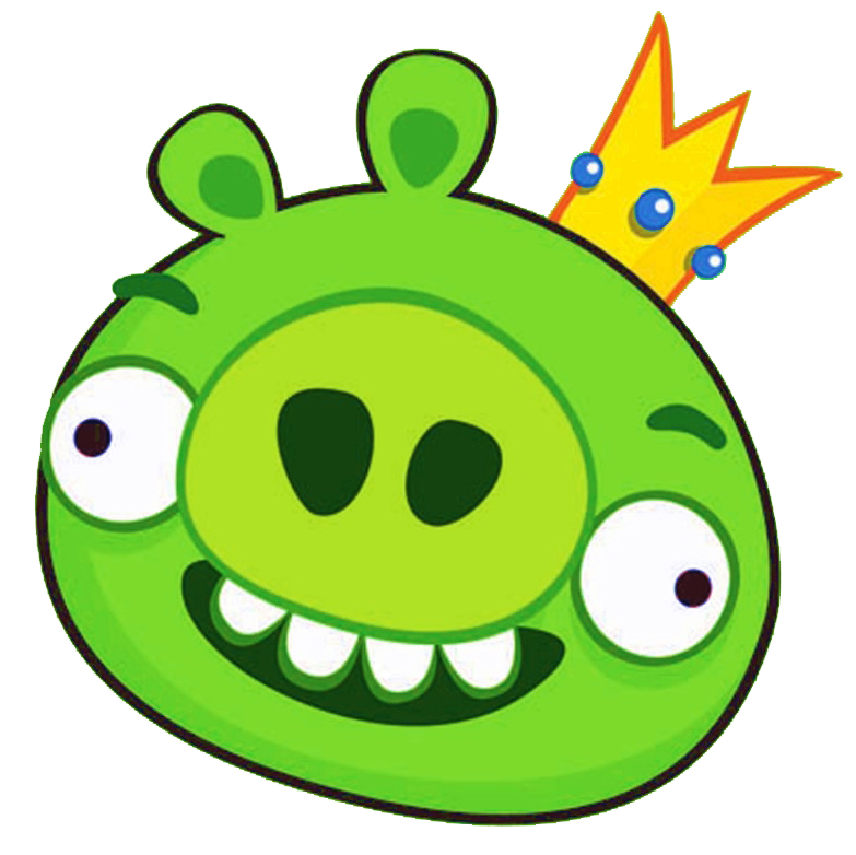 Image king 2 angry birds wiki fandom for Angry bird pig template