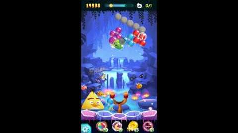Angry Birds POP! Level 19 UPDATED Free the Middle Pig!
