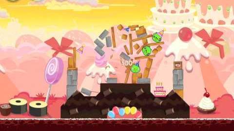 Angry Birds Birdday Party 19-1 Walkthrough 3 Star Birthday Party