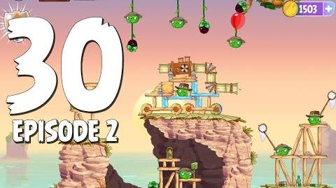 Angry Birds Stella Level 30 Episode 2 Beach Day Walkthrough