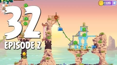 Angry Birds Stella Level 32 Episode 2 Beach Day Walkthrough