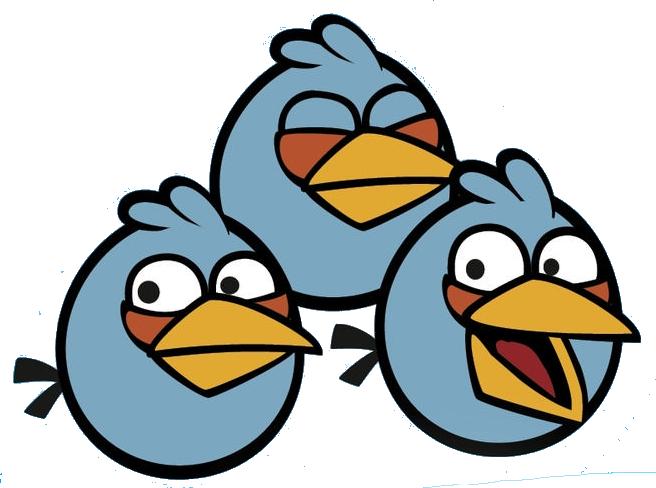 Image blues angry birds wiki fandom powered - Angry birds trio ...