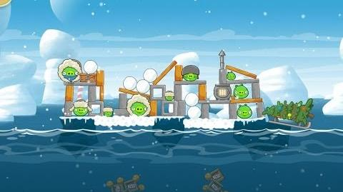 Angry Birds Seasons Arctic Eggspedition 1-12 Walkthrough 3 Star