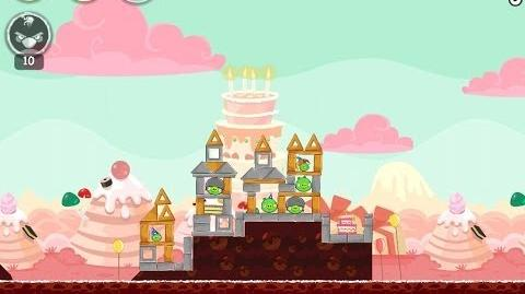 Angry Birds Birdday Party Cake 4 Level 3 Walkthrough 3 Star