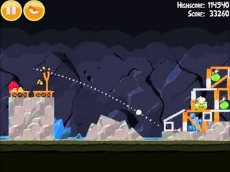 Official Angry Birds Walkthrough Mine and Dine 15-10