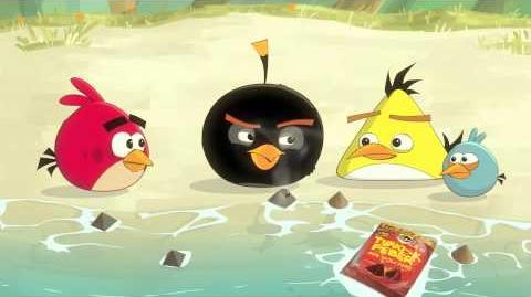 Angry Birds and Tyrkisk Peber Volcano