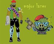 Major lazer comparation