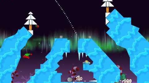 "Angry Birds Seasons Winter Wonderham Golden Egg 42 Walkthrough 2013 ""New Year Egg"""
