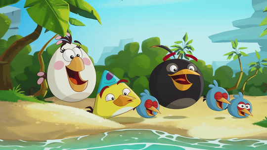 Angry Birds Toons Characters Eggs By Brunomilan13 On: Angry Birds Season 2 Trailer