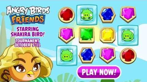 Shakira Bird stars in Angry Birds Friends - Gameplay Trailer