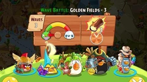 Angry Birds Epic Golden Fields Level 3 Walkthrough