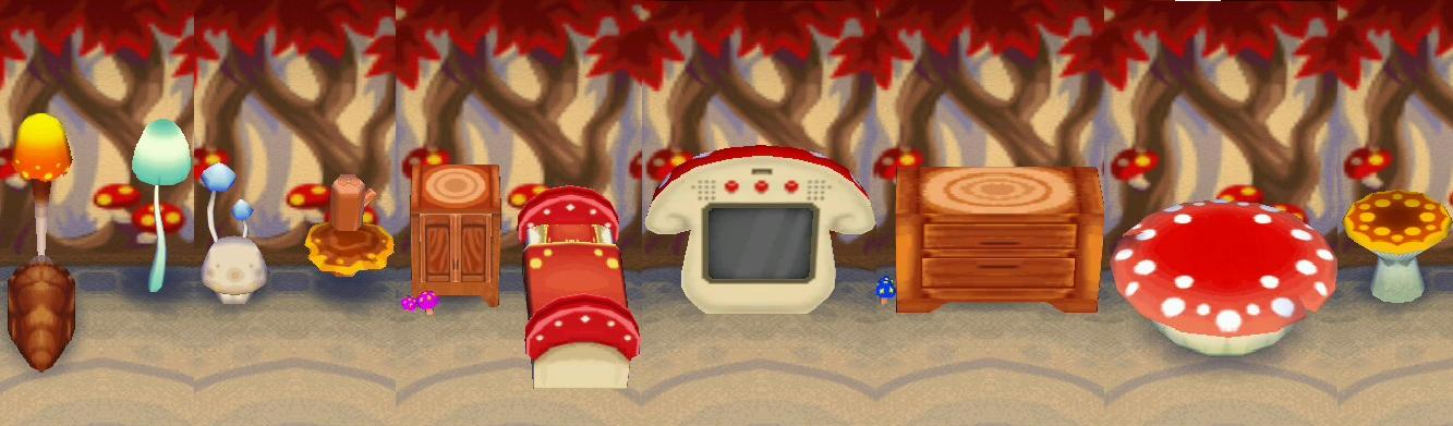 Mushroom Series Animal Crossing Wiki Fandom Powered By