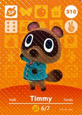Amiibo 310 Timmy