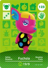 Amiibo 123 Fuchsia