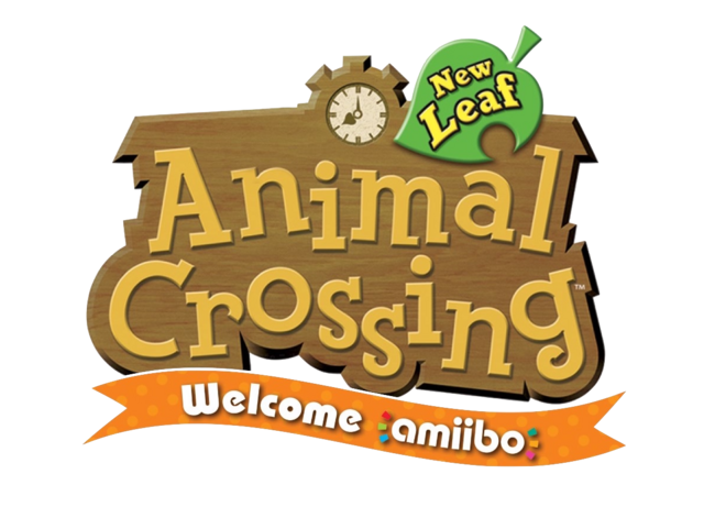 File:3DS AnimalCrossingNewLeaf Welcomeamiibo logo.png