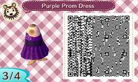 Purple prom Dress 34
