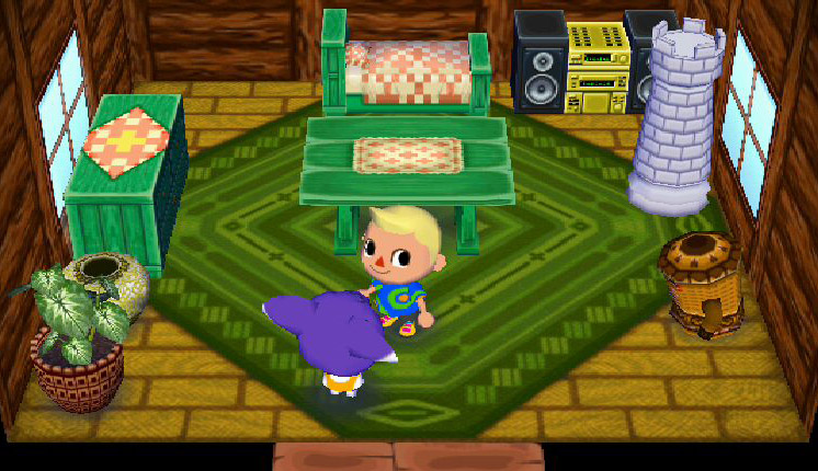 Sidney animal crossing enciclopedia fandom powered by for Extension maison animal crossing wild world