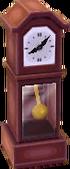 Classic clock violet