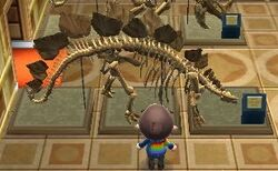 Stegosaur in New Leaf
