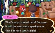 Cheri ACNL Moving In