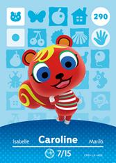Amiibo 290 Caroline