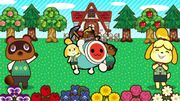Isabelle and Tom Nook and AC Wada-don TnT ATD