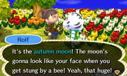 Villager autumn moon
