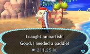 Oarfish - Animal Crossing Wiki Oarfish Animal Crossing