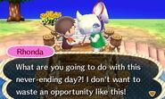 Talking to Rhonda in Summer Solstice