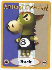 Buck's E-Reader Card