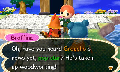 File:Broffina Pointing Out to Groucho's Woodworking.JPG