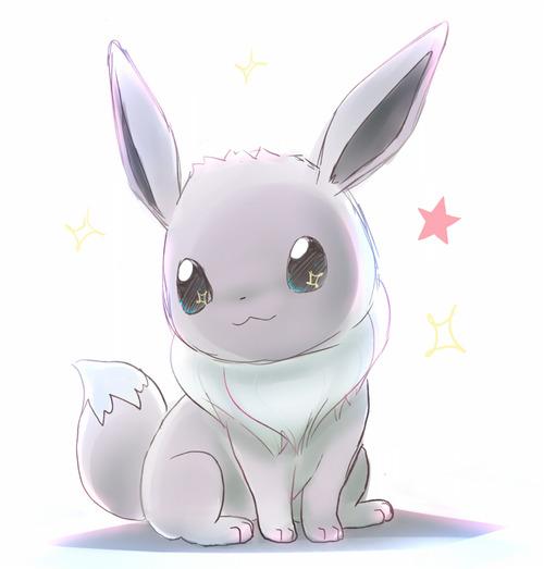 cute anime eevee