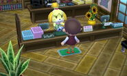 Giving a Seashell to Isabelle