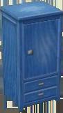 Blue wardrobe NL