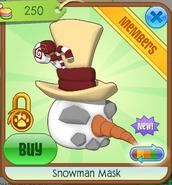 Snowman Mask6