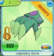 Legendary Glove Green