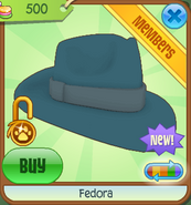 Shop Fedora Teal