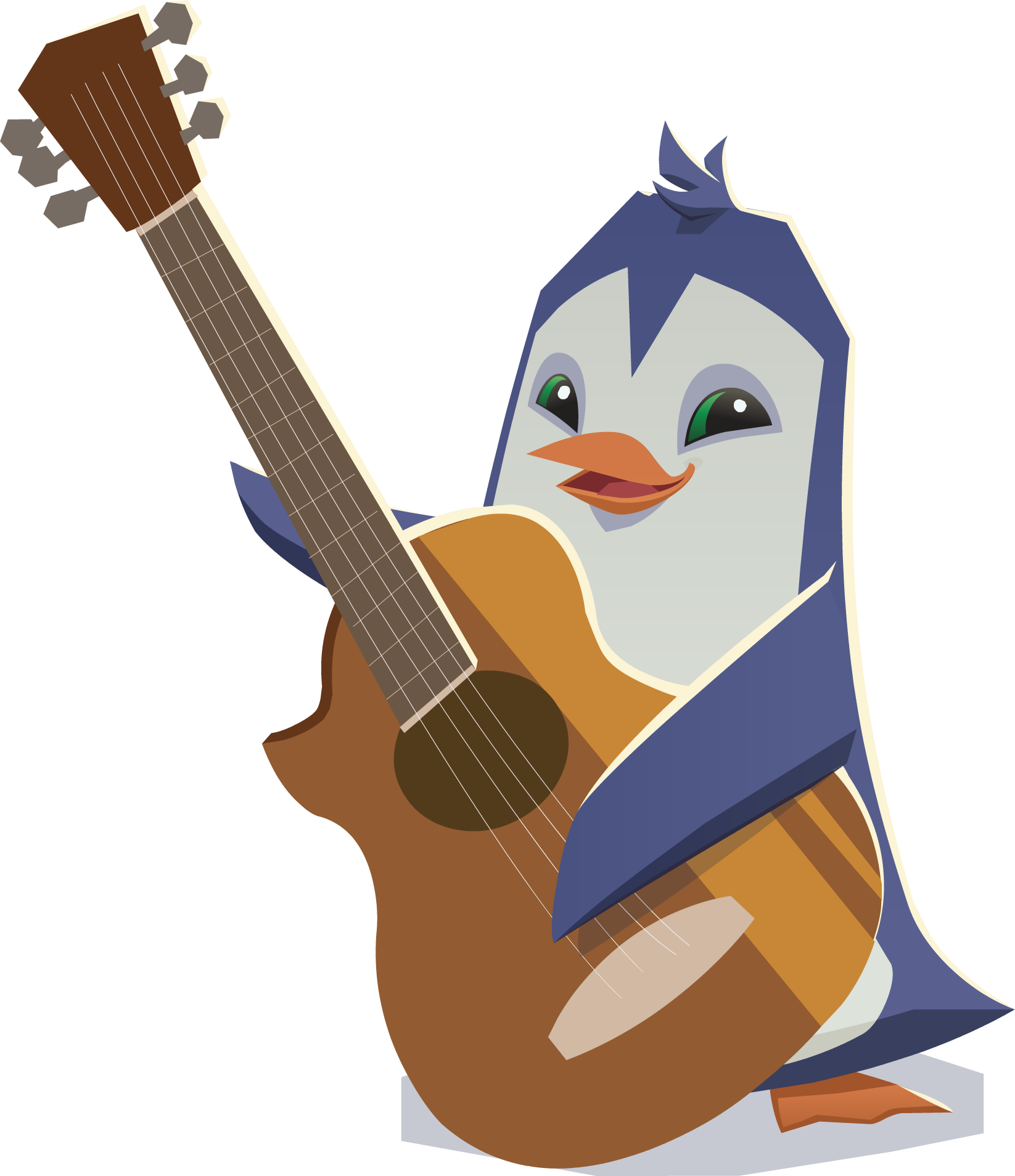 image penguin with guitar png animal jam wiki fandom powered by wikia penguin clipart gif penguin clip art images
