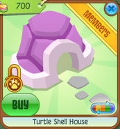 Pets-Only-Shop Turtle-Shell-House Pink