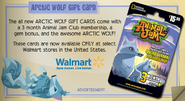 Jamaa-Journal Vol-072 Arctic-Wolf-Gift-Card