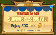 Summer-Carnival Welcome-Free-Tickets