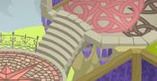 Fantasy-Castle Flower-Carpet