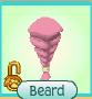Item Beard Pink Named