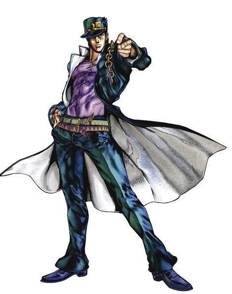 Anime Fight Characters 0 1 : Джотаро Куджо anime characters fight вики fandom